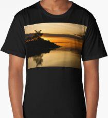 Orange Sunrise Long T-Shirt