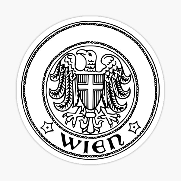 Vienna coat of arms Sticker