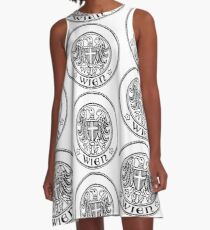 Vienna coat of arms A-Line Dress