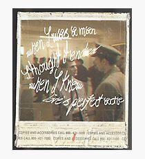 arsonist's lullaby Photographic Print