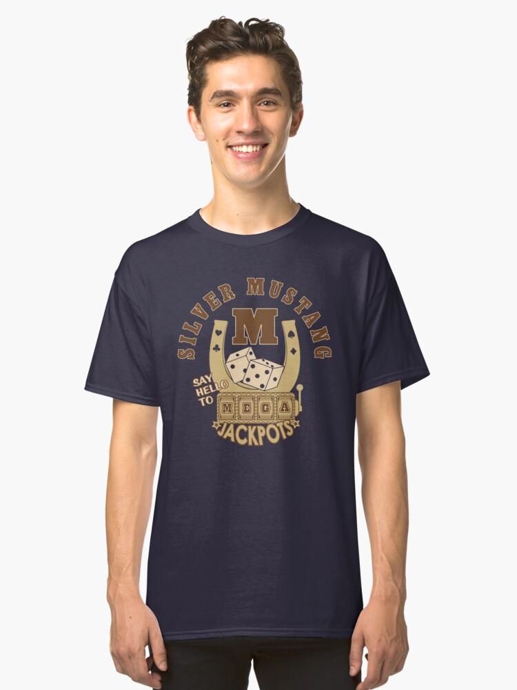 Mega Jackpots Classic T-Shirt Front