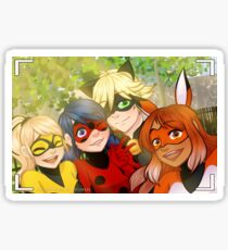 Miraculous Selfie Sticker