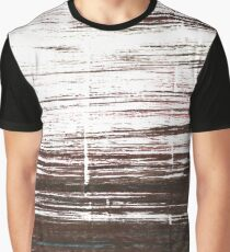 Bistre abstract watercolor Graphic T-Shirt