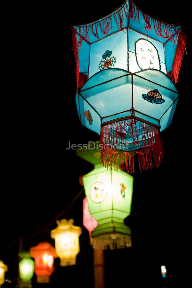 Chinese Lanterns 4 by JessDismont