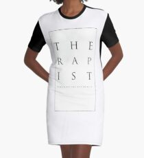 Mind What You Get On With. Graphic T-Shirt Dress