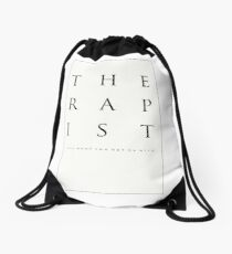 Mind What You Get On With. Drawstring Bag
