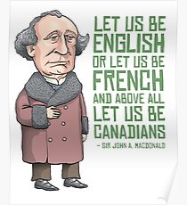 John A. Macdonald Poster