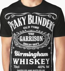 whiskey style text Graphic T-Shirt