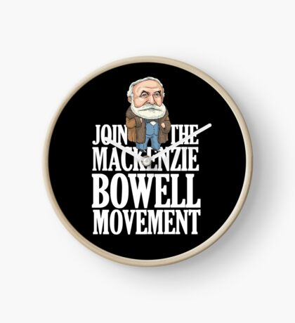 Join the MacKenzie Bowell Movement Clock