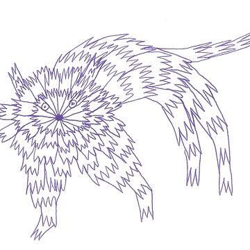Zaggy Cat by KazM