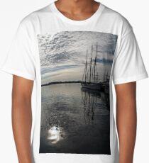 Toronto Harbor - Tall Ships and Dramatic Light Long T-Shirt