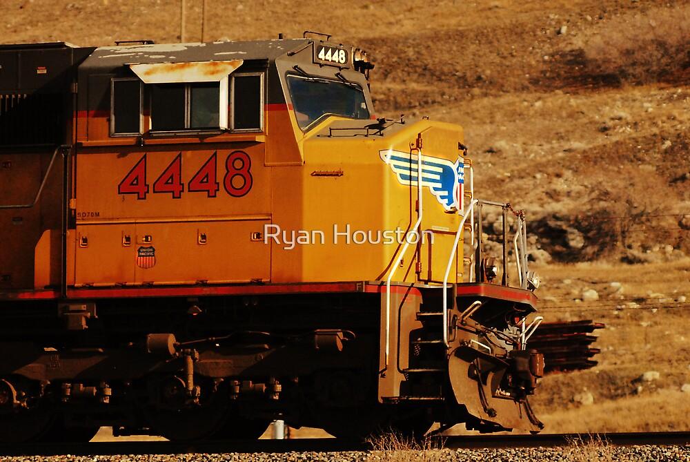 Union Pacific Train - West of Salt Lake City by Ryan Houston