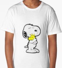 Snoopy love Long T-Shirt