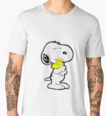 Snoopy love Men's Premium T-Shirt