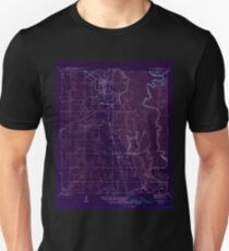 USGS TOPO Map Florida FL Wewahitchka 349091 1945 31680 Inverted Unisex T-Shirt