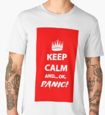 Keep Calm and Panic! Men's Premium T-Shirt