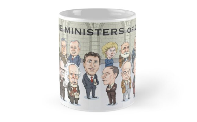 Canada's Prime Ministers by MacKaycartoons