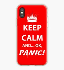 Keep Calm and Panic! iPhone Case