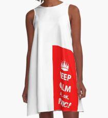 Keep Calm and Panic! A-Line Dress