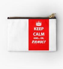 Keep Calm and Panic! Studio Pouch