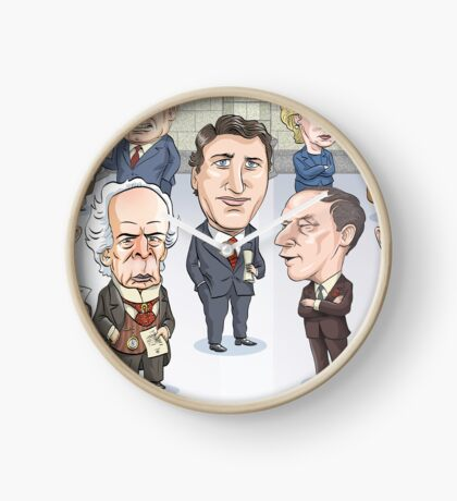 Canada's Prime Ministers Clock