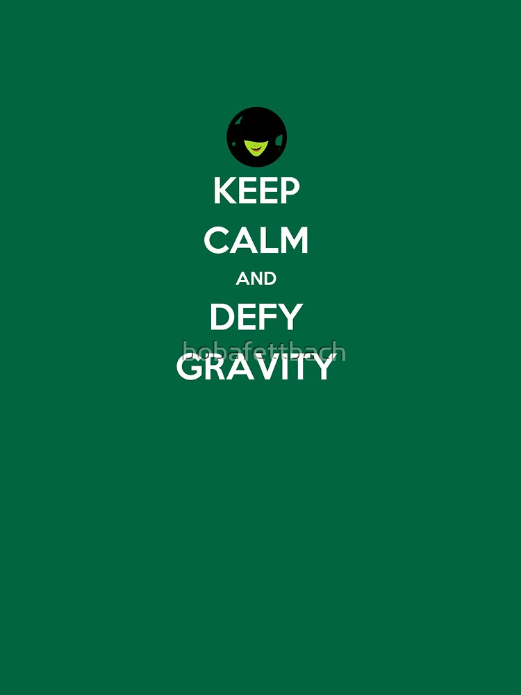 TShirtGifter presents: Defy Gravity | Unisex T-Shirt