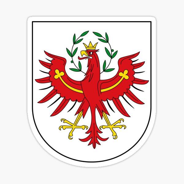 Coat of Arms of Tyrol, Austria Sticker