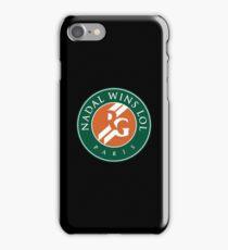 Roland Garros Nadal Wins LOL iPhone Case/Skin