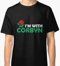 I'm With Corbyn Classic T-Shirt