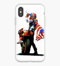 Nicky Hayden Champion Watercolor iPhone Case
