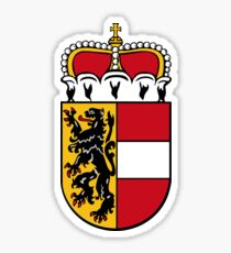 Coat of Arms of Salzburg (state), Austria Sticker