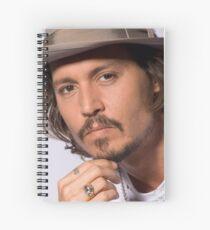 Johnny Depp Spiral Notebook