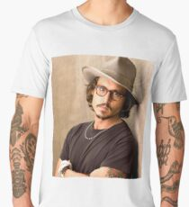 Johnny Depp Cool Men's Premium T-Shirt