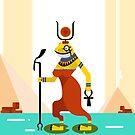Heqet - Egyptian Goddess of Fertility by artkarthik