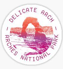 Delicate Arch Sticker