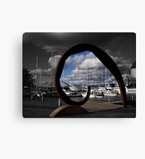 Gothenburg sculpture Canvas Print