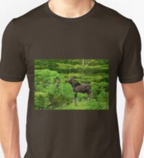 Bull Moose- Yearling twins. Unisex T-Shirt