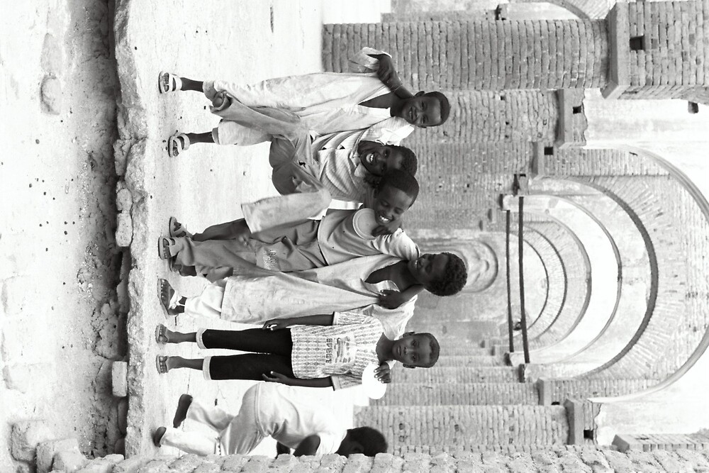Kiddies in Kassala by Sarah Edgcumbe