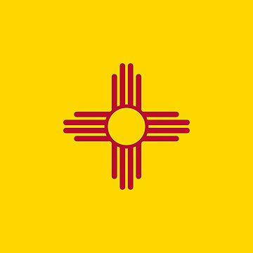 Flag of New Mexico by Countries-Flags