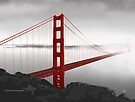 Golden Gate Bridge (Vectorillustration) by . VectorInk