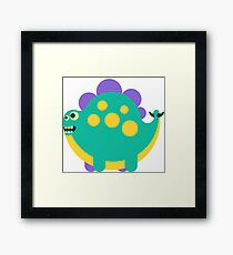 Stego Stan (Bright) Framed Print