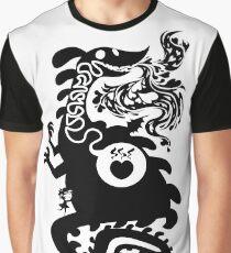 Burning Love Silhouette Graphic T-Shirt