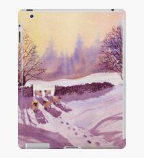 Sheep and Snow iPad Case/Skin