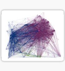 Close-knit ancient network Sticker
