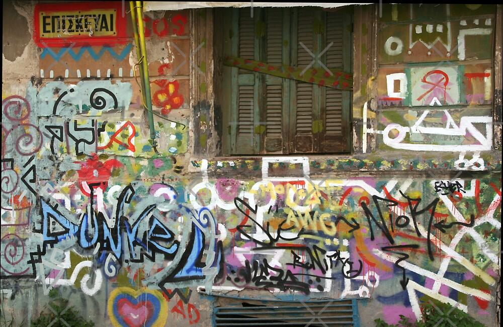 Graffiti by Louise Green