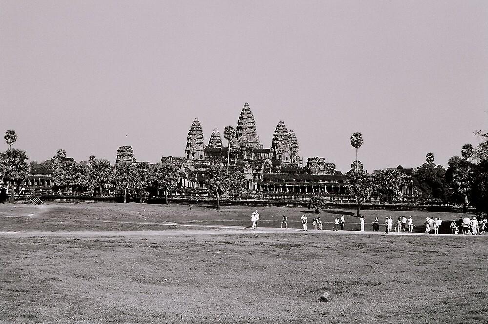 Angkor Wat by Sarah Edgcumbe