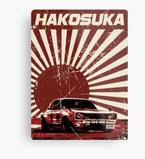 Hakosuka Pop-Art Metal Print