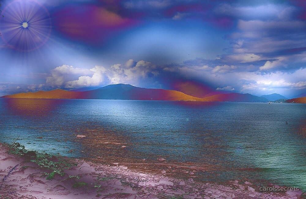 Fantasy Landscape by carolssecrets