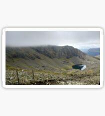 Climbing Snowdon Sticker