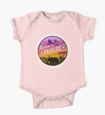 Freedom Is Priceless African Safari Wild Animals One Piece - Short Sleeve